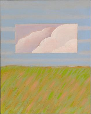 """Cumulous Clouds"" from the Near/Far Series © 2004 Aliyah Marr"